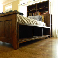 Sawyer Storage Bed by carolinafarmhouse on Etsy