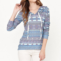Kirra 2x2 Brushed Rib Pullover Long Sleeve Tee at PacSun.com