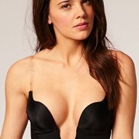 Fashion Forms | Fashion Forms Clear Back U Plunge Bra at ASOS