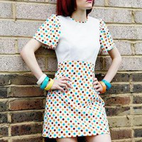 1960s poka dot mini dress | TuTu-Tallulah | ASOS Marketplace