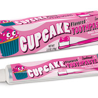 NEW & SEALED Cupcake Flavored Toothpaste - 2.5 oz