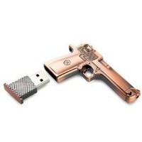 BNM Corporation - High Quality 8 GB Metal Gun shape USB Flash drive