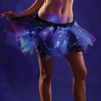 Light Up Blue, Purple, and Black Tutu