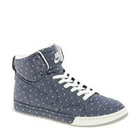 Nike Air Royalty Hi Top Blue Trainers at asos.com