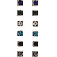 Square stud set