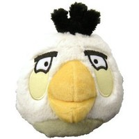 "Angry Birds 5"" Plush White Bird with Sound"