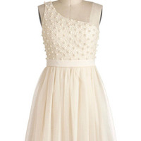 Sugar Pearls Dress | Mod Retro Vintage Dresses | ModCloth.com