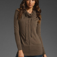 JNBY Funnel Neck Sweater in Light Coffee at Revolve Clothing - Free Shipping!