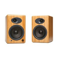Audioengine A5+ Premium Powered Speaker Pair (Natural Wood)