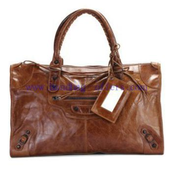 Balenciaga City Bag 084327 Light Coffee