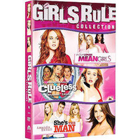 Walmart: Girls Rule Collection: Mean Girls / Clueless / She&#x27;s The Man (Widescreen)