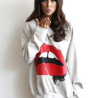 Big Mouth Sweatshirt | Timeless Boutique
