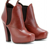 mytheresa.com -  Proenza Schouler - PLATFORM ANKLE BOOTS - Luxury Fashion for Women / Designer clothing, shoes, bags