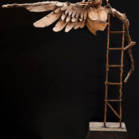 Attempt To Fly by RickCainSculptor on Etsy