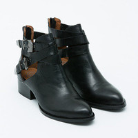 Jeffrey Campbell - Everly Buckled Cut-out Boot (PRE-ORDER)