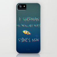 FINDING NEMO 3D  effect iPhone Case by Mnika  Strigel for iPhone 5 + 4S + + 3 GS + 3 G + skin +ipad mini + laptop + pillow *** BRANDNEW