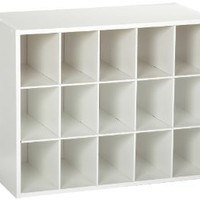 Amazon.com: ClosetMaid 15-Cubby Shoe Organizer, White: Home & Kitchen