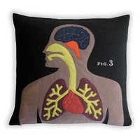 Science Project Pillow - Anatomy [GS-anatopill] - $210.00 - GSelect  - Gifts for Men. Unique, Cool Gift Ideas and Presents
