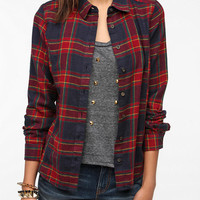 BDG Seamed Flannel Shirt