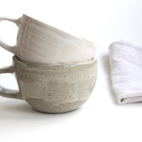 Oatmeal Coffee Mug in Stoneware