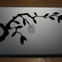 Macbook Decals by Gadget Decal Apple growing by GadgetDecalDotCom