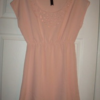 Gorgeous Pink Boutique Cut Out Dress Sz M