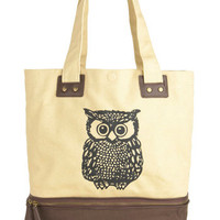 Owl Tote Your Things Bag | Mod Retro Vintage Bags | ModCloth.com