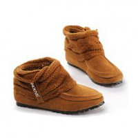Casual Mix Match Suede Scarf Style Shoes For Women China Wholesale - Sammydress.com