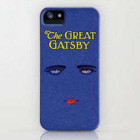 Great Gatsby Poster iPhone Case by Misery | Society6