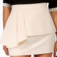 Flounced Trimmed Miniskirt | FOREVER 21 - 2021840132