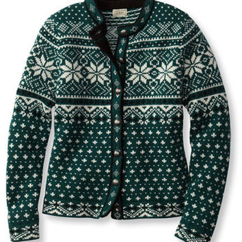 Bean's Kingfield Sweater: Cardigans | Free Shipping at L.L.Bean
