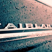Fairlane emblem Stretched Canvas by Vorona Photography | Society6