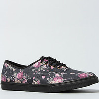 Vans Footwear The Authentic Lo Pro Sneaker in Black Floral : Karmaloop.com - Global Concrete Culture