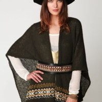 Wooden Ships Fair Isle Serape Poncho at Free People Clothing Boutique
