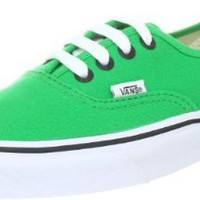 Amazon.com: Vans Mens Authentic, Bright Green/Black , Men's 7: Shoes