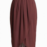monte veronese tulip skirt in mauve at ShopRuche.com, Vintage Inspired Clothing, Affordable Clothes, Eco friendly Fashion