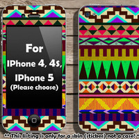 Buy 2 get 1 free  Colorful Aztec pattern skin for by Heyiamcase