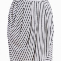 in line with you striped skirt in white at ShopRuche.com, Vintage Inspired Clothing, Affordable Clothes, Eco friendly Fashion