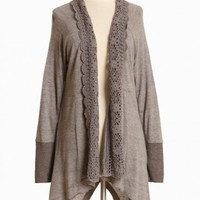 madeline gray cardigan at ShopRuche.com, Vintage Inspired Clothing, Affordable Clothes, Eco friendly Fashion