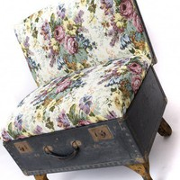 The Suitcase Chair / Tapestry print / Seating / Recreate
