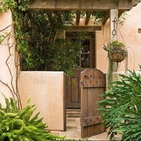 Habitat*exterior, FACADE, entrance / A Garden Full of Beautiful Succulents - Traditional Home?-