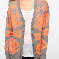 Urban Outfitters - Nameless Neon Graphic Cardigan