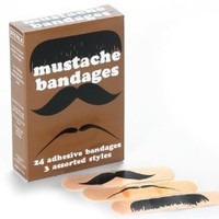 Amazon.com: Mustache Bandages: Health & Personal Care