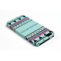 Amazon.com: Hakuna Matata Mint Aztec Pattern Embossed Slim Fit Hard Case for Apple iPhone 5, 5G (AT&amp;T, Verizon, Sprint, International) - Includes DandyCase Keychain Screen Cleaner [Retail Packaging by DandyCase]: Cell Phones &amp; Accessories