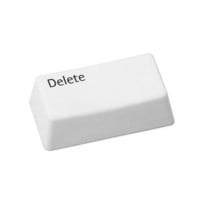 DELETUS ERASER | This irreverent eraser is shaped like the well-known, &#x27;oh-no&#x27; key on the computer keyboard, bridging the gap between old school function and contemporary humor that&#x27;s sure to give your circuit board lover a good chuckle. | UncommonGoods