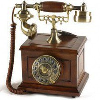Elegant Classic Antique Rotary Dial Telephone