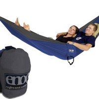 ENO Double Nest Hammock (Charcoal/Royal)
