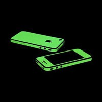 Glow in the Dark OEM SlickWraps Protective Skin For Apple AT&T Verizon iPhone 4 4S