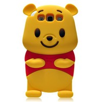 Amazon.com: Winnie the Pooh 3D Cartoon Soft Shell Case for Samsung Galaxy S 3 I9300: Cell Phones & Accessories
