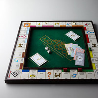 """Monopoly"" Deluxe Game Set - Horchow"